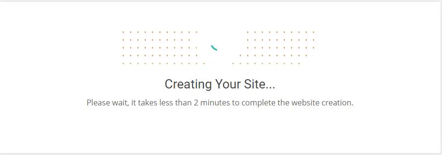 siteground  انشاء موقع جديد